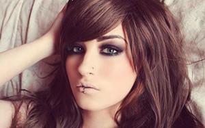Pierced girl